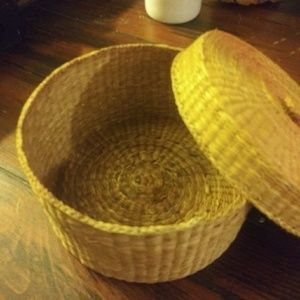 Knitted Weaved Basket